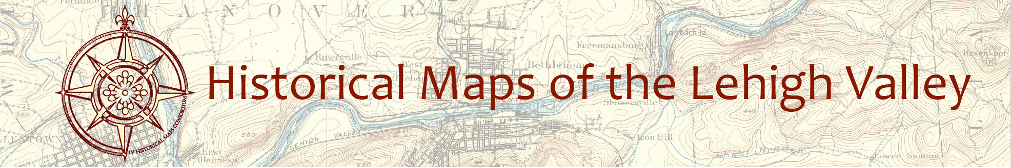 Historical Maps of the Lehigh Valley