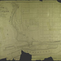 This map shows a plan of Bethlehem made from surveys by Jacob Dillinger and John C. Brickenstein. It is a lithographic copy produced by J. Probst in Philadelphia, Pa. It was authored by Abraham Hübener and drawn by P. Jarrett in 1841.